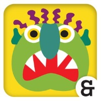 Go Away Big Green Monster App Logo