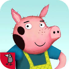 Three Little Pigs App Logo