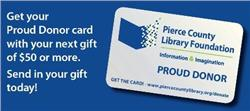 Proud Donor Card