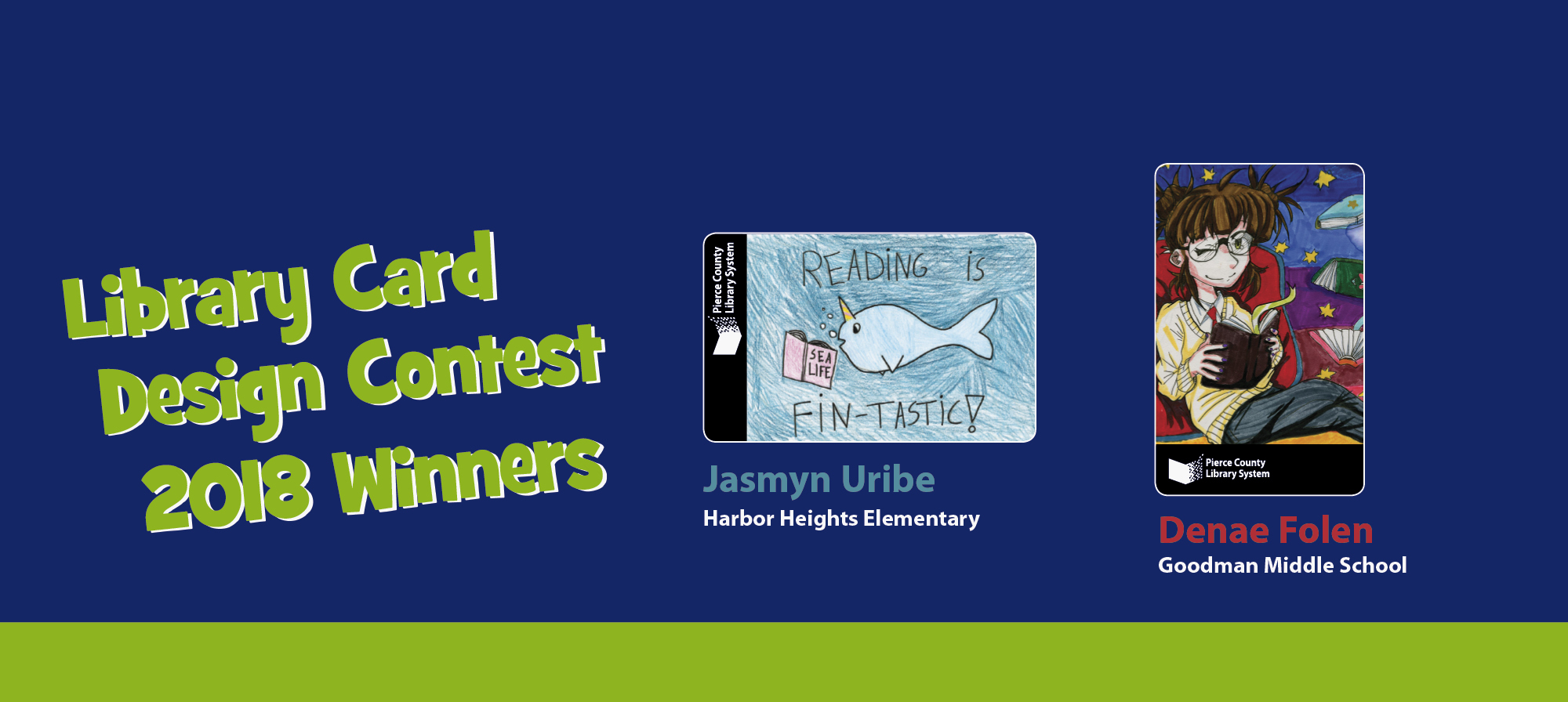Library Card Contest Winners