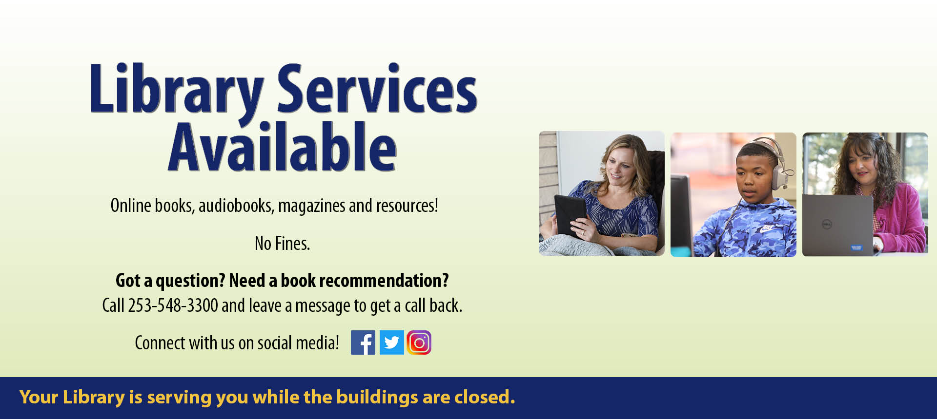 Library Services Available