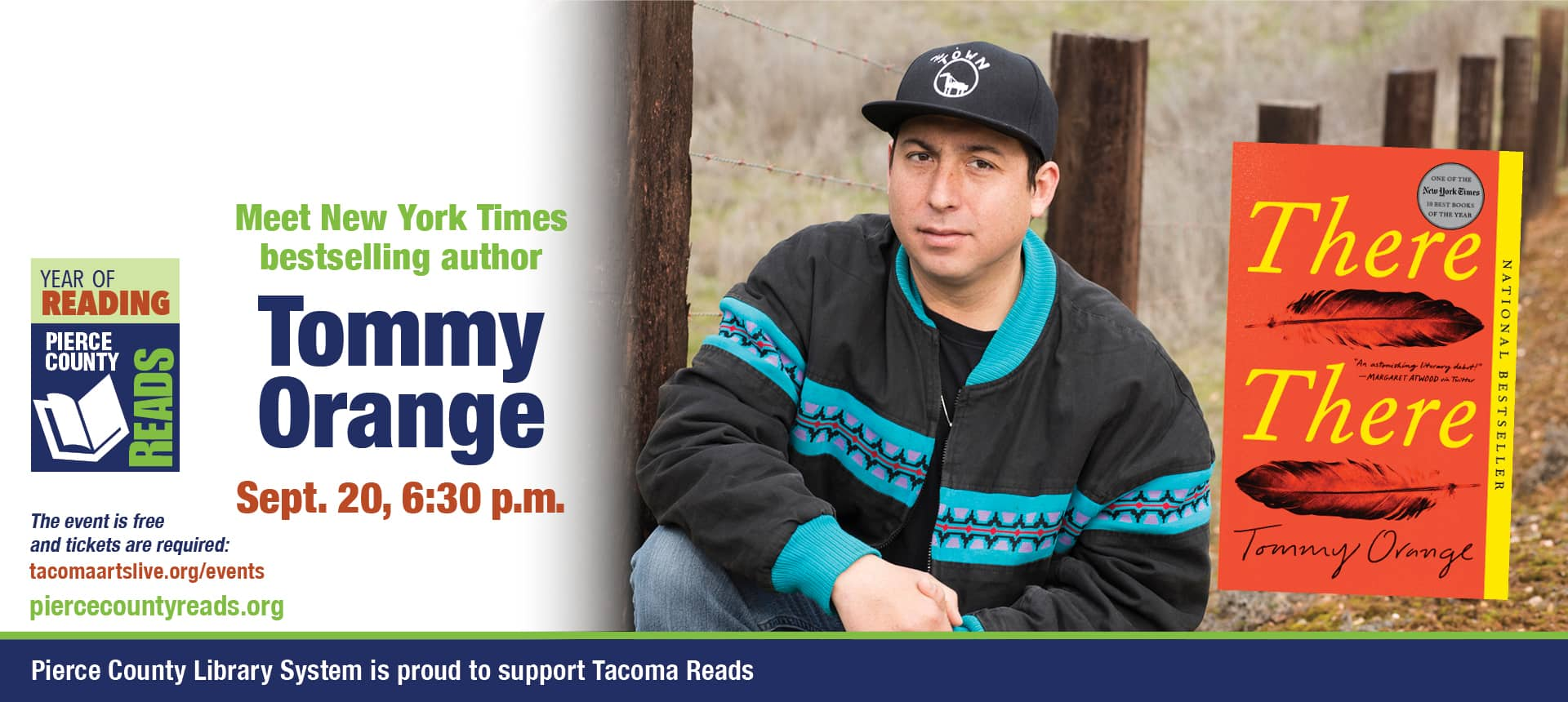 Join us for Tommy Orange
